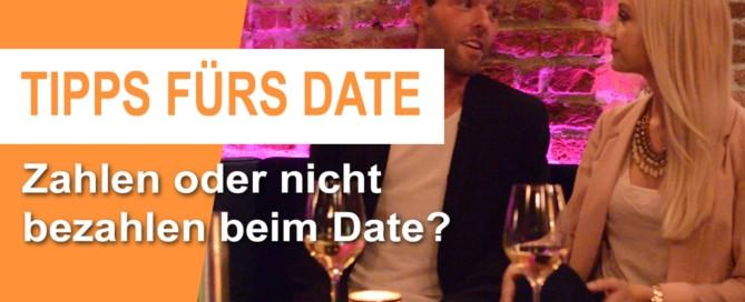 erstes date bezahlen