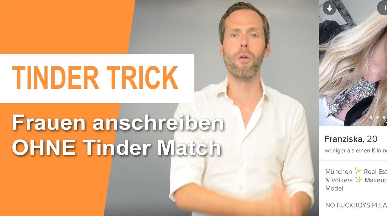 Tinder ohne Match schreiben? So kannst Du ihr OHNE Match schreiben! •  Premium Life